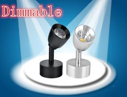 farbe wechselbares glas Rabatt 1 STÜCKE 7 watt 9 watt led COB dimmbare Decke Epistar LED deckenleuchte Einbaustrahler Unten 110 V-220 V LED COB Schienenlicht