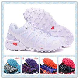 Wholesale girls sports shoes size 36 - Hot sale Speedcross 3 Women Summer-Autumn Outdoor sports Hiking shoes waterproof girl running shoes Speedcross III Sneakers size 36-41