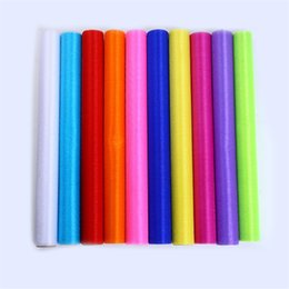 Wholesale Organza Roll Fabrics - Hot 4.5m X 48cm Wide High Quality Sheer Crystal Organza Tulle Roll Fabric for Wedding Party Decoration or New Year Decoration.W