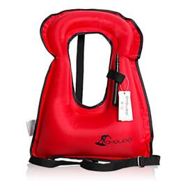 Productos de seguridad del chaleco Chaleco salvavidas inflable Chaleco salvavidas para snorkel Dispositivo flotante Natación A la deriva Surf Deportes acuáticos Vida sa ... desde fabricantes