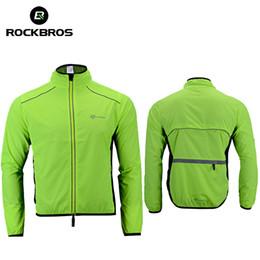Wholesale Men S Dust Coat - ROCKBROS Soft Multifunction Running Jacket Windcoat Jersey Dust Coat Hiking Clothing Quick Dry Ourdoor Sportswear Running Vests