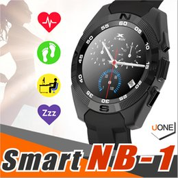 Wholesale Voice Calling - NB-1 G5 SmartWatch Ultra-Thin Heart Rate Monitor MTK2502 support Voice Control Siri ECG transmission smart wrist watch for ios&android