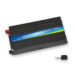 Wholesale car sine - 2000W DC 12V to AC110V pure sine wave power inverter car inverter CE Rohs and IEC approval