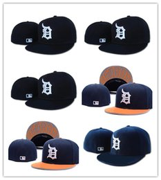 Wholesale fitted caps for cheap - Newest Cool Detroit Fitted Baseball sports Hats For men and women High quality Mix order cheap wholesale hat provide cap album