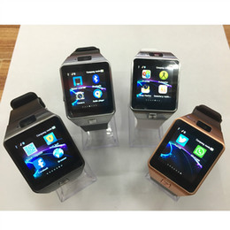 Neue android smart watch handy online-Neues intelligentes Uhr-Armband DZ09 passt Android-Uhr intelligenten SIM-intelligenten Handy-Schlaf-Zustand mit Kleinpaket auf