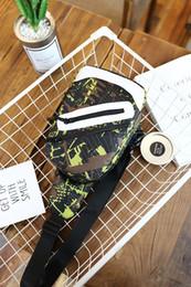 Wholesale Vintage Messenger Bags Men Canvas - Men womem Small Chest camouflage Canvas Bag Vintage Messenger Bags For Waist Chest Casual Outdoor Hiking Sport Casual Shoulder Bag 171219004