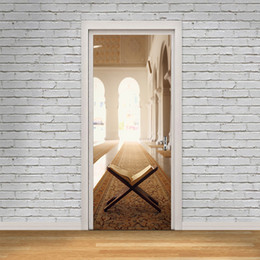 Персонализированные обои онлайн-Виниловые наклейки искусства DIY творческий Dreamland Книжная полка настенная роспись стены обои дверь стикер Home Decor гостиная водонепроницаемый персонализированные декоративные