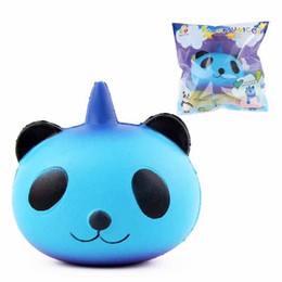 Wholesale Toys For Chinese Children - Jumbo Squishy Galaxy Panda Slow Rising Squishy Chinese Panda Squishy Animals Relieve Stress Toy for Child Adult Anxiety Attention