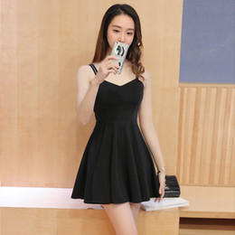 73db1046d824 Little black dress temperament korean version of the spring and autumn new  korean women sexy nightclub strapless strapless dress
