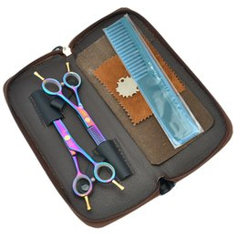 cuts for thin hair Coupons - Meisha 5.5 inch Professional Hairdressing Scissors Set Japan 440c Hair Cutting Thinning Shears for Barber Shop HA0001