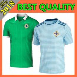 Wholesale k l - Free shipping New 2018 Northern Ireland world cup Jersey McNAIR green away K LAFFERTY DAVIS thai quality Northern ireland soccer Jersey