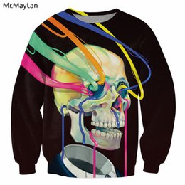 2019 boy lines Eyes Lines 3D Hipster Print Sweatshirts Hombres   Mujeres de  manga larga Pullover 19ac1ae6586