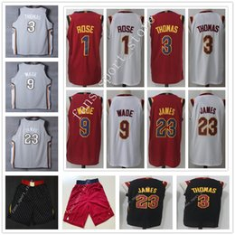 Wholesale Gray Basketball Jersey - 2018 New City Edition The Land Gray #23 Jersey Cheap High Quality Mens Black White Red #3 Isaiah Thomas Dwyane Wade Jerseys Shorts