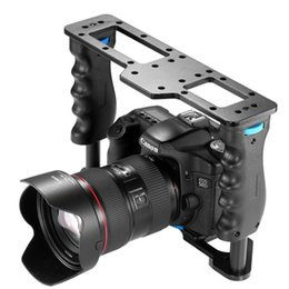 Venda Por Atacado filme de liga de alumínio film making gaiola de vídeo da câmera para canon 5d / 700d / 600d / n7 d7200 / d7200 / d7000 d5200 / d5200 / d700 sony / a7r sony supplier camera film wholesale de Fornecedores de câmera filme atacado