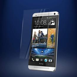 Per HTC M7 / one Clear HD protezione dello schermo in vetro temperato 2.5D 9H durezza vetro temperato balistico per M8 mini M9 E9 / E9 + da m8 hd fornitori