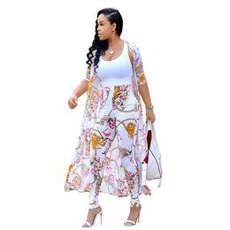 Combinaisons imprimées florales tenues d'été survêtement mode sexy femmes ensemble bureau manteau + pantalon deux pièces costumes casual survêtement ? partir de fabricateur