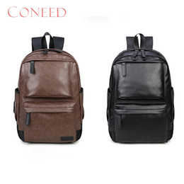 best boys gifts Promo Codes - Charming Nice CONEED Best Gift Vintage Leather Travel Bags Rucksack Shoulder Travel Bags