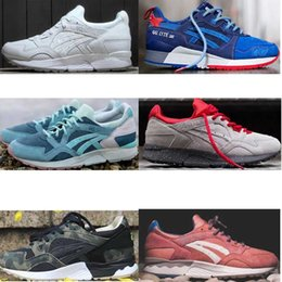 Wholesale Gel Lyte - 2018 hot top quality running shoes Gel Lyte iii V for men and women Athletic Sport Trainers Sneakers sports shoes saga Casual 36-44