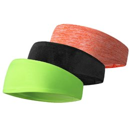 Wholesale Elastic Bands For Fitness - Non Slip Design Sweatband Headband Hair Elastic Fitness Sports Yoga Hair Bands Gym For Women Men 2018
