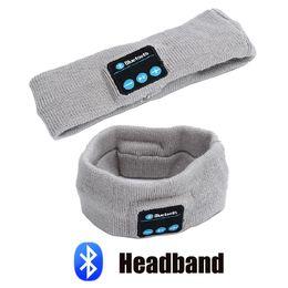 auriculares para dormir Rebajas Banda para la cabeza Auriculares inalámbricos Bluetooth Sleep Overk Phone Headband Sleep Auriculares suaves para auriculares para responder al teléfono contestador de música