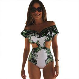 Traje de baño de una pieza sin espalda halter online-Traje de baño de una pieza traje de baño atractivo de las mujeres 2017 Summer Beach Wear Traje de baño Vendaje Halter Top sin espalda Monokini Body