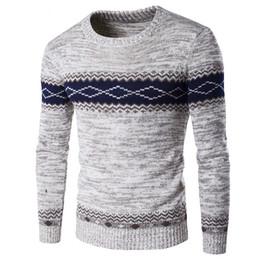 2017 nuovi arrivi pull homme maglione degli uomini di marca o collare patchwork mantenere caldo casual slim fit pullover maglioni pullover XXL da