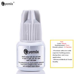 Wholesale Quick Dry Glue - 5ml 2sec Fast Drying Individual Eyelash Extension Glue Ultra Plus Glue Black lash adhesive Quick Dry Last 6-7 Weeks Made Korea