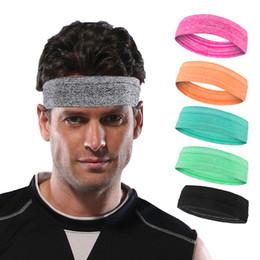 vendas al por mayor del entrenamiento Rebajas Banda para el sudor antideslizante Absorción de humedad profesional Banda para la cabeza del sudor para hombres y mujeres Bandas para el cabello de yoga Gimnasio