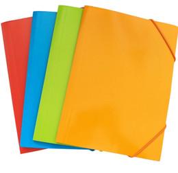 Canada A4 sac d'archivage multi couleur papier dossiers dossiers fournitures de classement fichier poche étudiant papeterie nouvelle arrivée cheap a4 paper folder Offre