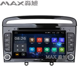Wholesale Free Mp3 R - 1024*600 2+16G Android 6.0 Car DVD Player for Peugeot 408 with Radio BT swc GPS free map 4G WIFI