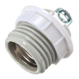 Wholesale light bulb holder fitting - Ceramic Heat Lamp Fitting E27 Lamp Base Cap Base Screw Socket Light Bulb Holder Adapter Converter
