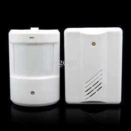 Wholesale infrared alarms - Electro Guard Watch Driveway Infrared Wireless Security Alert System Motion Sensor Alarm Garage Indoor & Outdoor Use