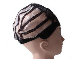 2019 красно-красная краска для волос Парик шапки для изготовления париков регулируемые ремни назад швейцарские кружева полный фронт кружева парик cap парик ткать чистой наращивание волос 3 цвета