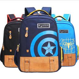 2018 mode frais hommes et femmes sac à dos sac jeunesse casual sac de sport  sac à dos Avengers Spider-Man Iron Man sac à dos aa512560352