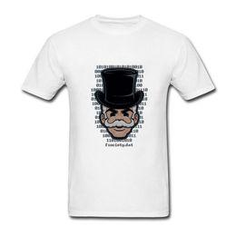 Wholesale Print Robot - Mr. Robot Mask Hacker T Shirts Men Fashion Fsociety Mask Printed T-shirt Short Sleeve Cotton TV Show Logo Men Tops Plus Size XS