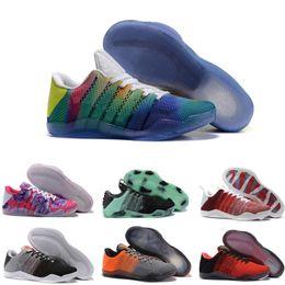 2019 horse shoe 2018 di alta qualità Kobe 11th generazione Knit Elite  scarpe da basket uomo 0b344707b8e