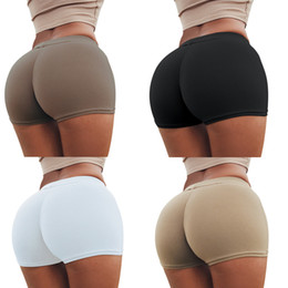 Wholesale Flattering Pants For Short Women - Butt Lift Push Up Sexy Boyshorts Underwear for Women Clothing Abundant Buttocks Hip Boxer Briefs Sports Fitness Pants Yoga Wear ZL3449