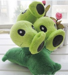 Wholesale Character Soft Toys - 2018 Plants vs Zombies Plush Toys 10-20cm Plants vs Zombies PVZ Plants Soft Plush Stuffed Toys Doll Game Figure Toy for Kids