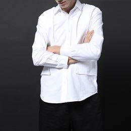 customize shirt design Canada - Customized PLUS SIZE S-6XL !! New original Men's clothing GD Hair Stylist fashion Four piece structure design long sleeve Shirt
