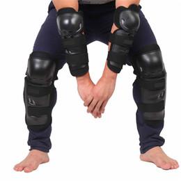 Rodilleras de rodillas de carrera online-4 unids / set Rodillera Protectora Protector de la Rodilla de La Motocicleta Sports Scooter Protecciones de Motociclismo Engranajes de seguridad Codo del codo de la carrera GGA176 10 sets