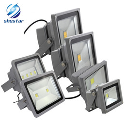 Wholesale Led Lighting Ip65 - 10W 20W 30W 50W 100W 150W 200W LED flood light spotlight projection lamp Advertisement Signs lamp Waterproof outdoor floodlight AC85-265V