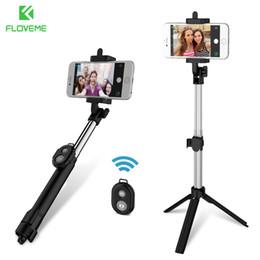Trépied Bluetooth Selfie Bâton Pour iPhone 5S SE 6 6S X Pour IOS Bureau Support Titulaire Monopode Pour Samsung Galaxy S9 S8 Plus ? partir de fabricateur