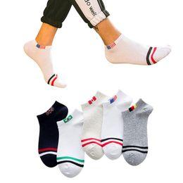 e3901a08231e8 2019 chaussettes à cheval à la cheville pour homme 5 paires de chaussettes  pour hommes printemps