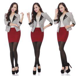 Wholesale Flared Mini Skirt High Waist - Spring Autumn Winter Women's OL Mini Shorts skirts high waist flared pleated dressing female ball grown underskirt 1pcs lot DD06