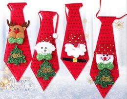 Творческие подарки рождественские украшения взрослых детей фестиваль небольшие подарки блестки галстук-бабочку от