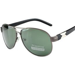 e889d274634 Cubojue Aviation Sunglasses Polarized Men Grey Dark Green Oversized Gafas de  sol de gran tamaño para hombre antirreflejo Polar UV400 Rana rebajas  hombres ...