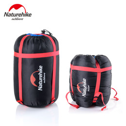 Wholesale Hiking Cold Weather - NatureHike 2017 New Arrived Multifunctional Outdoor Sports Hiking Camping Sleeping Bag Pack Compression Bags Storage Carry