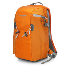 venta al por mayor E5 Cámara naranja DSLR Trípode Foto SLR Hombros Bolsa de ocio Bolsa cubierta de lluvia Bolsa de viaje Mochila desde fabricantes