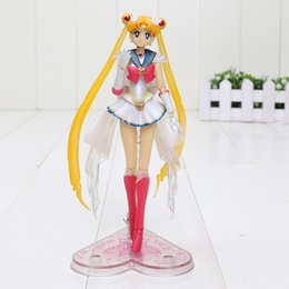 Modelos de batman online-14cm Hot Anime S.H. Figuarts Super Sailor Moon figura de acción de PVC Model Doll Girl Kids toy