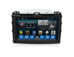 Wholesale Touch Screen Radio For Prado - Car Stereo 2 Din RDS Radio Android Quad Core for Toyota Prado 2008 CAR DVD GPS Backup Camera Input   Steering Wheel Control